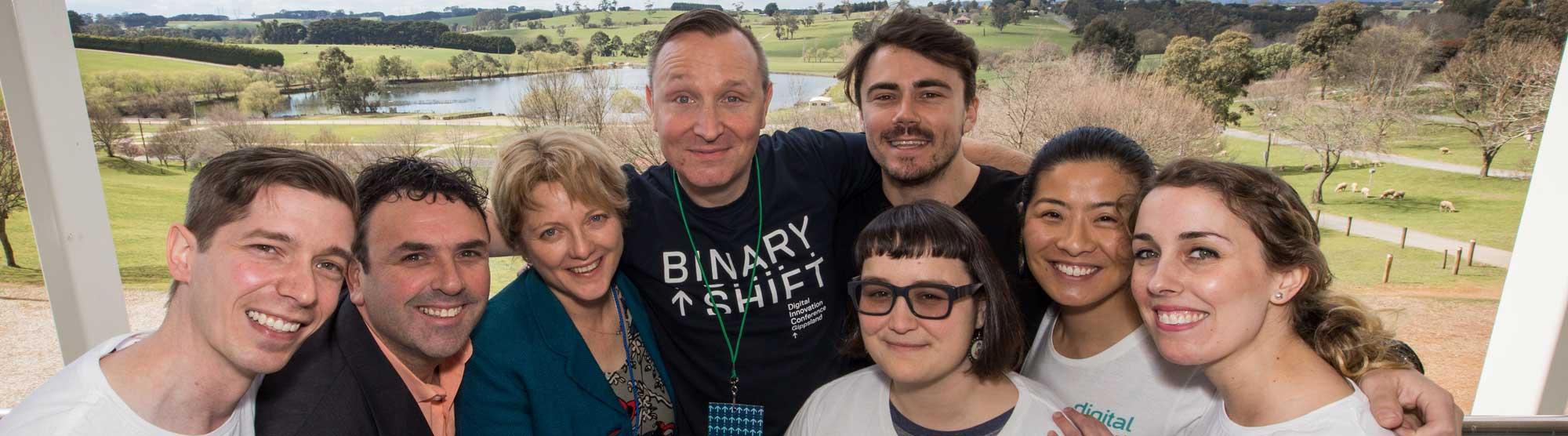Binary Shift group shot