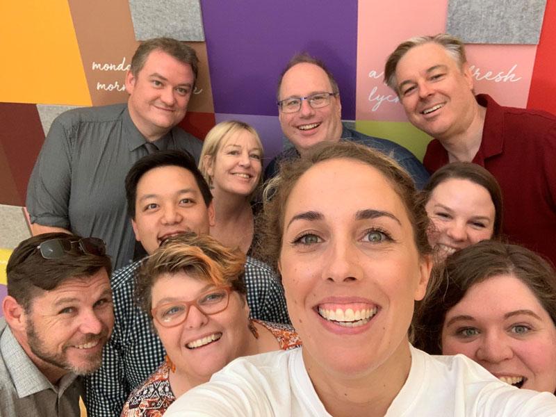Selfie - Digital Springboard participants in South Australia