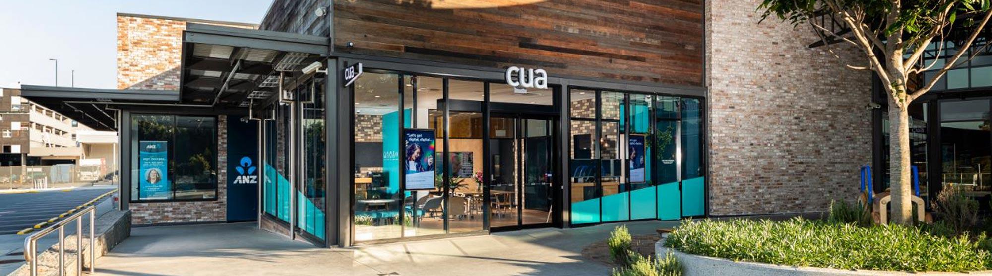 Exterior of the CUA community hub